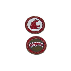 Washington State Cougars Golf Ball Marker