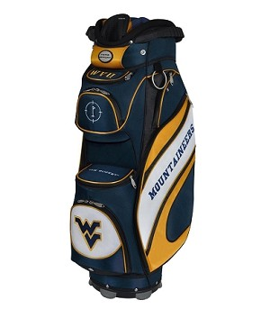 West Virginia Mountaineers The Bucket Cool Cart Bag