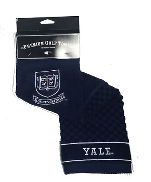 Yale Bulldogs Embroidered Golf Towel