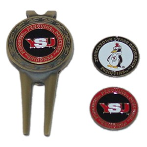 Youngstown State Penguins Golf Divot Tool Set