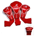 Alabama Crimson Tide Golf Contour 3 pack Head Covers