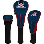 Arizona Wildcats Nylon Graphite Golf Set of 3 Head Covers