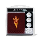 Arizona State Sun Devils Embroidered Golf Gift Set