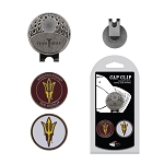 Arizona State Sun Devils 2 Marker Golf Hat Clip