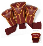 Arizona State Sun Devils Golf Contour 3 pack Head Covers