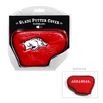 Arkansas Razorbacks Blade Golf Putter Cover