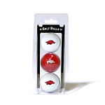 Arkansas Razorbacks Golf Ball Clamshell