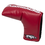 Arkansas Razorbacks Vintage Blade Golf Putter Cover