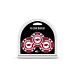 Arkansas Razorbacks Golf 3 Pack Poker Chip