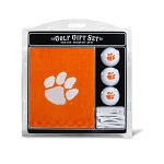 Clemson Tigers Embroidered Golf Gift Set