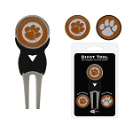 Clemson Tigers Golf Divot Tool Set