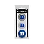 Duke Blue Devils Golf Ball Clamshell
