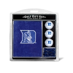 Duke Blue Devils Embroidered Golf Gift Set
