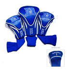 Duke Blue Devils Golf Contour 3 pack Head Covers