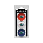 Florida Gators Golf Ball Clamshell