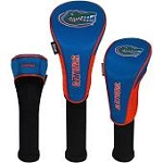 Florida Gators Nylon Graphite Golf Set of 3 Head Covers