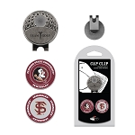 Florida State Seminoles 2 Marker Golf Hat Clip