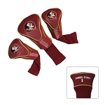 Florida State Seminoles Golf Contour 3 pack Head Covers