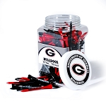 Georgia Bulldogs Golf 175 Tee Jar
