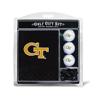 Georgia Tech Yellow Jackets Embroidered Golf Gift Set