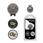 Georgia Tech Yellow Jackets 2 Marker Golf Hat Clip