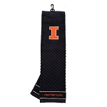 Illinois Fighting Illini Embroidered Golf Towel