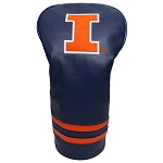 Illinois Fighting Illini Vintage Golf Driver Head Cover