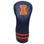 Illinois Fighting Illini Vintage Golf Fairway Head Cover