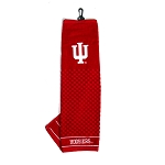 Indiana Hoosiers Embroidered Golf Towel