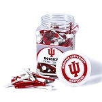 Indiana Hoosiers Golf 175 Tee Jar