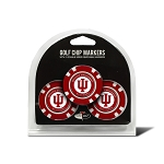 Indiana Hoosiers Golf 3 Pack Poker Chip