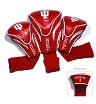 Indiana Hoosiers Golf Contour 3 pack Head Covers