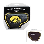 Iowa Hawkeyes Blade Golf Putter Cover