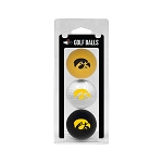 Iowa Hawkeyes Golf Ball Clamshell