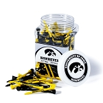 Iowa Hawkeyes Golf 175 Tee Jar