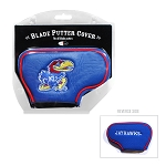 Kansas Jayhawks Blade Golf Putter Cover
