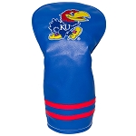 Kansas Jayhawks Vintage Golf Driver Head Cover