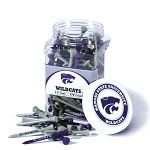Kansas State Wildcats Golf 175 Tee Jar
