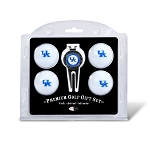 Kentucky Wildcats 4 Ball Divot Tool Golf Gift Set
