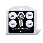 LSU Tigers 4 Ball Divot Tool Golf Gift Set