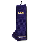 LSU Tigers Embroidered Golf Towel
