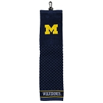 Michigan Wolverines Embroidered Golf Towel