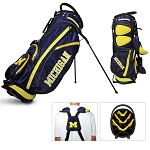 Michigan Wolverines Golf Fairway Stand Bag