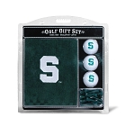 Michigan State Spartans Embroidered Golf Gift Set