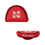 Nebraska Cornhuskers Mallet Golf Putter Cover