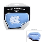 North Carolina Tar Heels Blade Golf Putter Cover