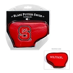 North Carolina State Wolf Pack Blade Golf Putter Cover