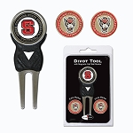 North Carolina State Wolf Pack Golf Divot Tool Set