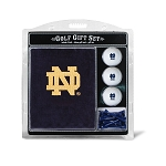 Notre Dame Fighting Irish Embroidered Golf Gift Set