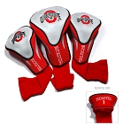 Ohio State Buckeyes Golf Contour 3 pack Head Covers